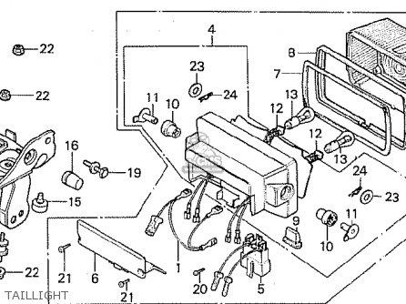 Honda CB750F 1983 (A) GENERAL EXPORT MPH parts lists and