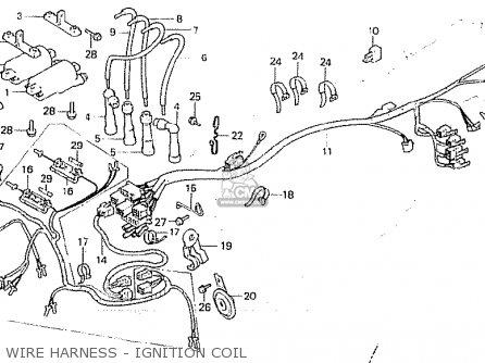 Honda Cb750f 1983 (d) European Direct Sales parts list