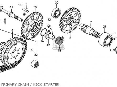 Honda CB750F 750 SUPER SPORT 1975 USA parts lists and