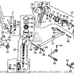 1976 Honda Cb750f Wiring Diagram 98 F150 Starter 750 Super Sport 1980 Usa Rear Brake Caliper 79 80 | Car Interior Design