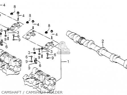 Honda CB750F 750 SUPER SPORT 1978 USA parts lists and