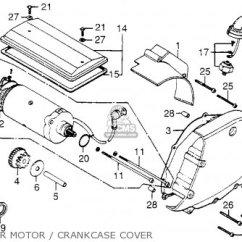 1978 Honda Cb750 Wiring Diagram Star Delta Starter Cb750f 750 Super Sport Usa Parts Lists And Schematics Motor Crankcase Cover