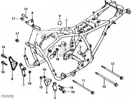 Honda Cb750f 750 Super Sport 1979 Usa parts list