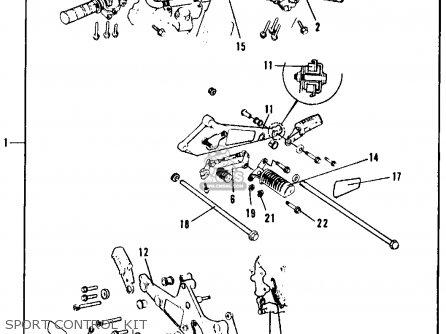Honda CB750F 750 SUPER SPORT 1979 (Z) USA parts lists and
