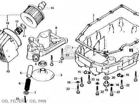 Honda CB750F 750 SUPER SPORT 1980 (A) USA parts lists and