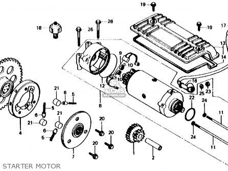 Honda Cb750f 750 Super Sport 1980 (a) Usa parts list