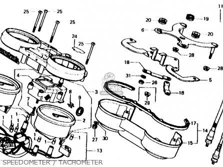 Honda Cb750f 750 Super Sport 1981 (b) Usa parts list