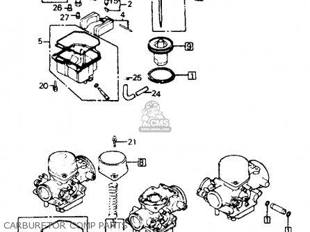 Honda Cb750f 750 Super Sport 1981 Usa parts list