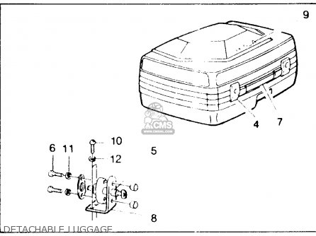 Honda Cb750f 750 Super Sport 1982 (c) Usa parts list