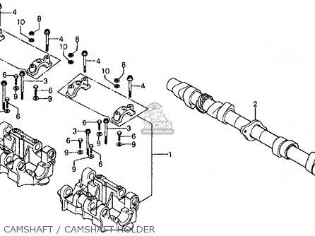 Honda Cb750f 750 Super Sport F0 1975 Usa parts list