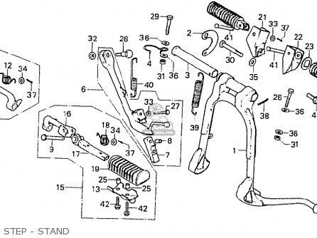 Honda CB750F1 SUPER SPORT 1976 AUSTRALIA parts lists and