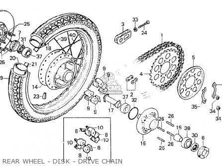 Honda Cb750f1 Super Sport 1976 Canada parts list