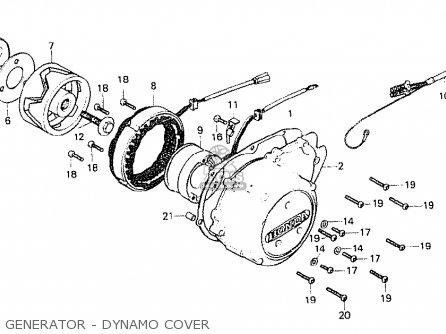 Honda Cb750f1 Super Sport 1976 England parts list