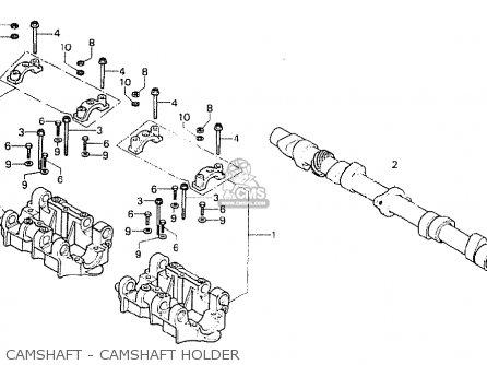 Honda Cb750f1 Super Sport 1976 General Export Mph parts