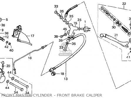 Honda Cb750f1 Super Sport 1976 Germany parts list
