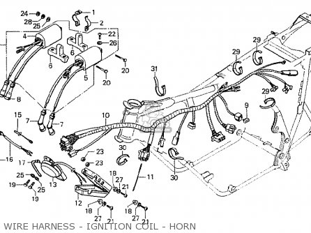 Honda CB750F1 SUPER SPORT 1976 GERMANY parts lists and
