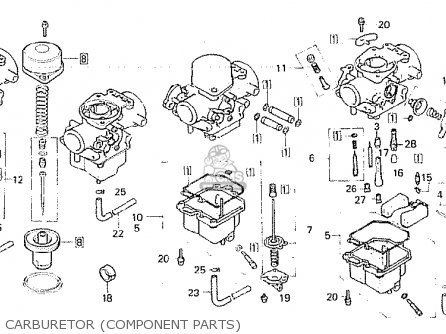 Honda CB750F2 1982 (C) AUSTRALIA parts lists and schematics