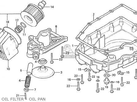 Honda Cb750f2 1982 (c) England parts list partsmanual