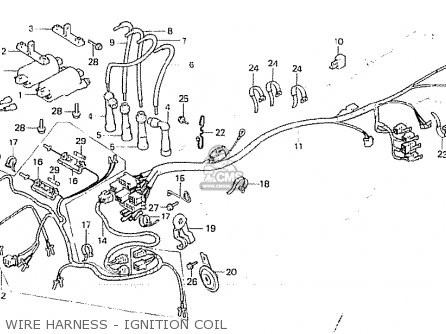 Honda CB750F2 1982 (C) ENGLAND parts lists and schematics