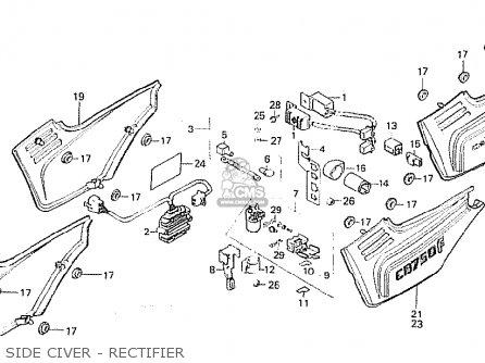 Honda CB750F2 1982 (C) FRANCE parts lists and schematics