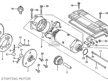 Honda CB750F2 1982 (C) GERMANY parts lists and schematics