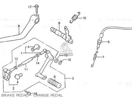 Honda Cb750f2 1982 (c) South Africa parts list partsmanual