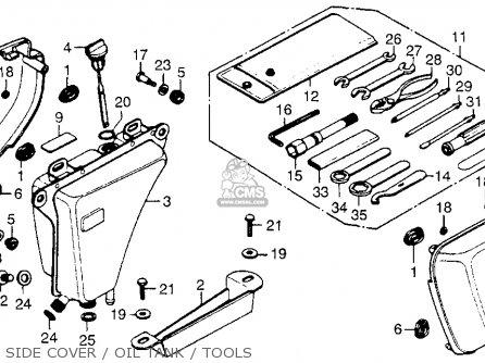 Honda CB750F2 750 SUPER SPORT 1977 USA parts lists and