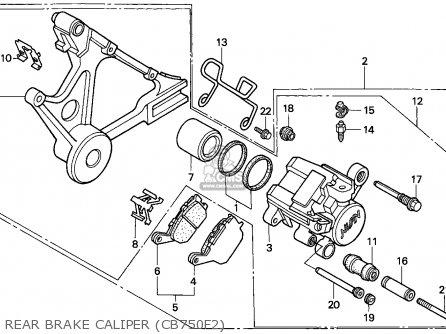 Honda CB750F2 SEVEN FIFTY 1994 (R) ENGLAND / MPH parts