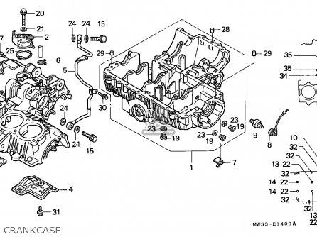Honda Cb750f2 Seven Fifty 1995 Germany / Kph 50p parts