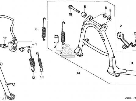 Honda CB750F2 SEVEN FIFTY 1995 (S) GERMANY / KPH 50P parts