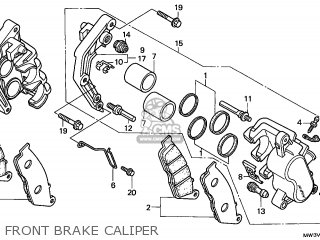 Honda CB750F2 SEVEN FIFTY 1997 (V) FRANCE / KPH CMF parts