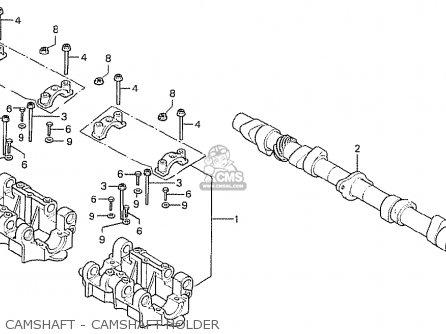 Honda Cb750f2 Super Sport Australia parts list partsmanual