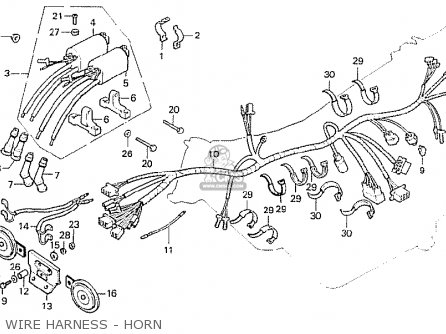 Honda CB750F2 SUPER SPORT AUSTRALIA parts lists and schematics