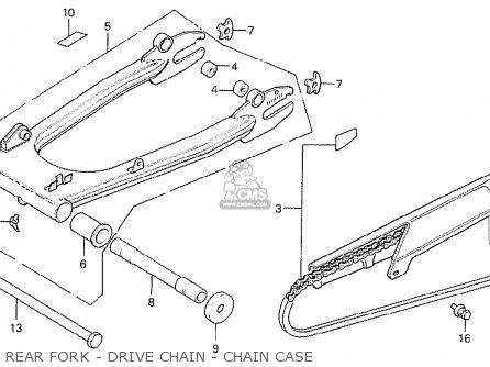 Honda Cb750f2 Super Sport Canada parts list partsmanual