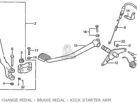 Honda Cb750f2 Super Sport England parts list partsmanual