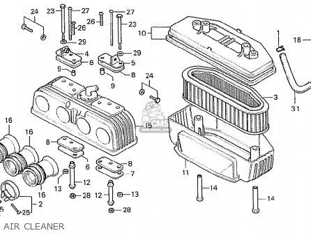 Honda CB750F2 SUPER SPORT EUROPEAN DIRECT SALES parts