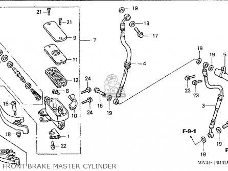Honda Cb750f4 Rc42 Japanese Domestic parts list