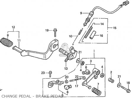 Honda Cb750f5 Rc42 Japanese Domestic parts list