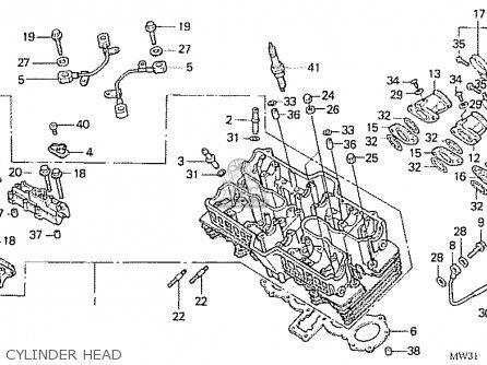 Honda Cb750fiin Rc42 Japanese Domestic parts list