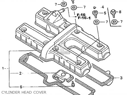 Honda Cb750fiit Rc42 Japanese Domestic parts list