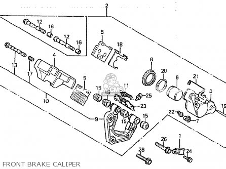 Honda CB750K 1979 (Z) FOUR CANADA parts lists and schematics