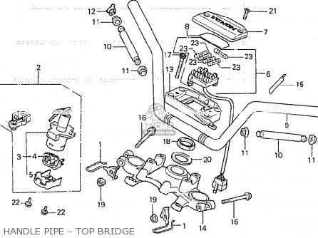 Honda CB750K 1979 (Z) FOUR CANADA parts lists and schematics