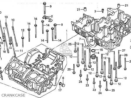 Honda Cb750k 1979 (z) Four England parts list partsmanual