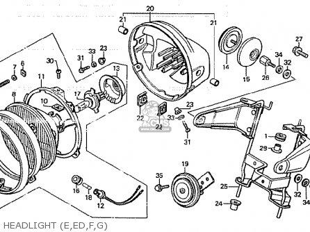 Honda Cb750k 1979 (z) Four Germany parts list partsmanual