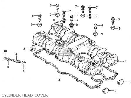 Honda Cb750k 1979 (z) Four South Africa parts list