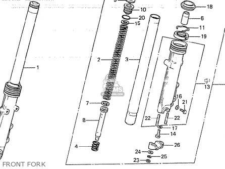 Honda CB750K 1980 (A) FOUR GENERAL EXPORT KPH parts lists