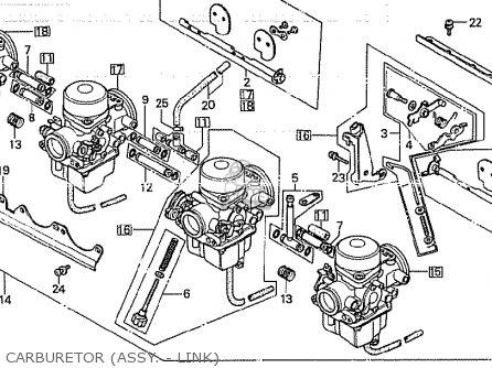 Honda CB750K 1980 (A) FOUR GENERAL EXPORT MPH parts lists