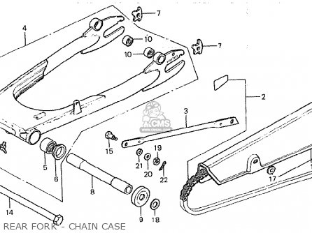 Honda CB750K 1981 (B) FOUR ENGLAND parts lists and schematics