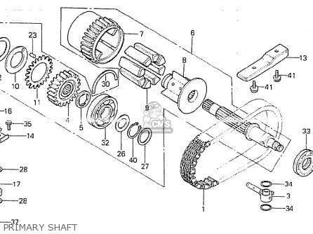 Honda CB750K 1981 (B) FOUR GERMANY parts lists and schematics