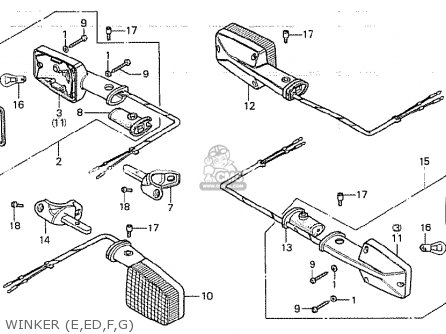 Honda 200s Wiring Diagram Kawasaki Mojave 250 Wiring